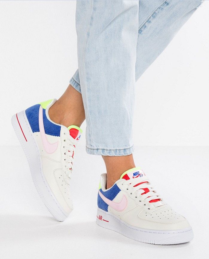 acd5c8a1293 Nike Sportswear AIR FORCE 1 Baskets basses sail arctic pink racer blue -  Zalando