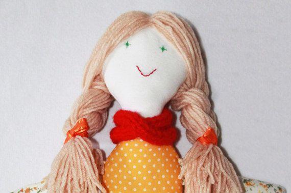 Lana the handmade doll by TinyHappyBee on Etsy