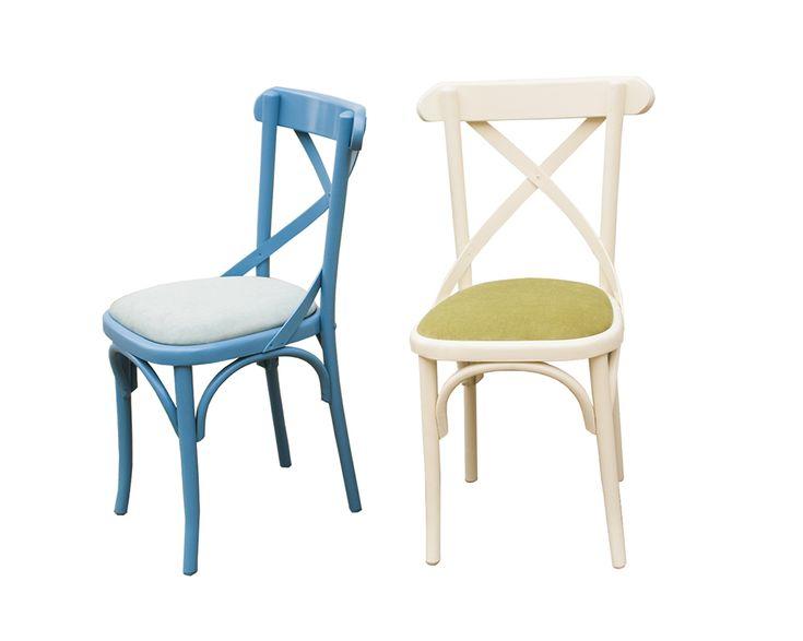Scaun Niv tapitat  -  colorat - scaune in stil Thonet produse de Mobirom Romania