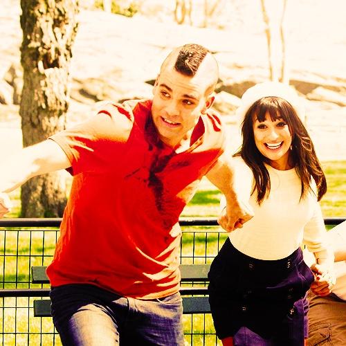 Puckelberry - Rachel Berry & Noah Puckerman - (Actors: Lea Michele & Mark Salling)