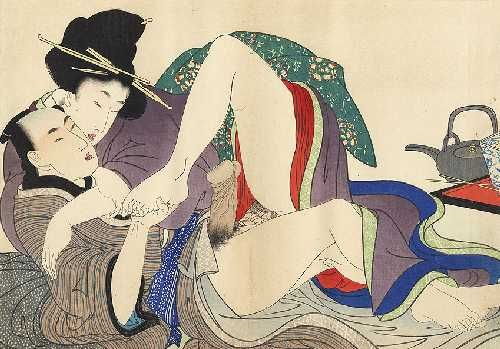 Ukiyo-e Gallery prelude to desire