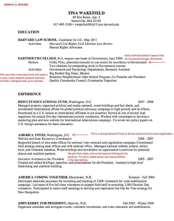 Law School Resume Sample - http\/\/resumesdesign\/law-school - harvard law resumes
