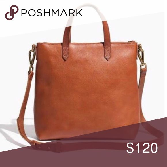 Sale! Madewell Mini Transport - English Saddle In excellent used condition! Perfect bag for running errands around town. Has two side pockets on the inside which are perfect to stash your phone and train ticket. Still on Madewell site for $148. Price firm ⚠️ Madewell Bags Crossbody Bags