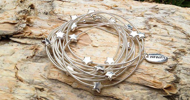 Majique Jewellery - Infinity Bracelet. Find it at www.giftedmemoriesjewellery.com.au