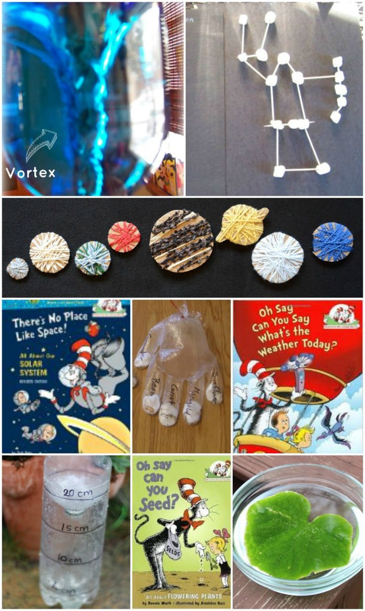 55 creative science activities paired with Dr. Seuss STEM books!