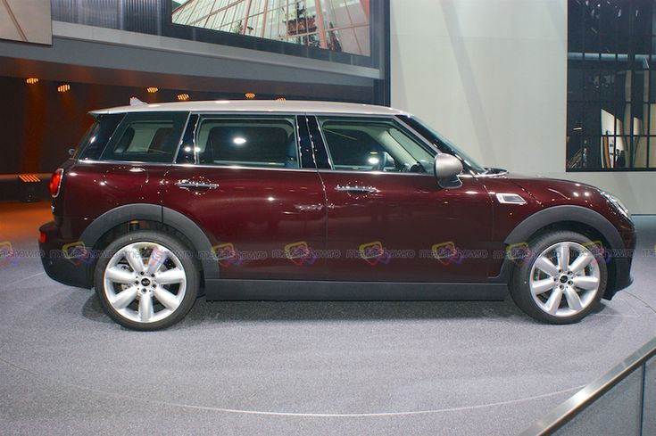 It is 2015 and Mini is going big again with a full 5 doors Station Wagon.  Want to see more? Follow the link on the photo for Mini at IAA Frankfurt 2015! Follow the link under the Picture.   This one is 2016 Mini Clubman Station Wagon Five Doors