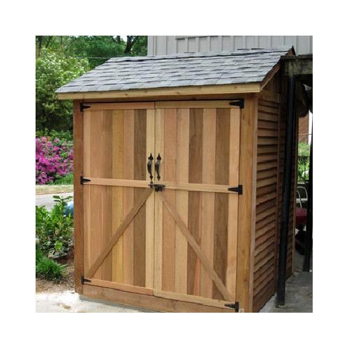 Found it at Wayfair - Maximizer 6 Ft. W x 6 Ft. D Wood Storage Shed