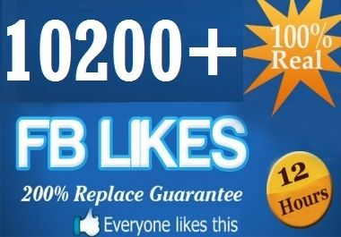 add 5000+ FACEBOOK likes To Your FanPage, Real and Active Pa... for $25