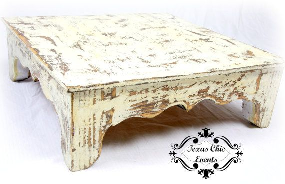 Rustic Wedding Cake Stand by TexasChicEvents on Etsy, $36.00