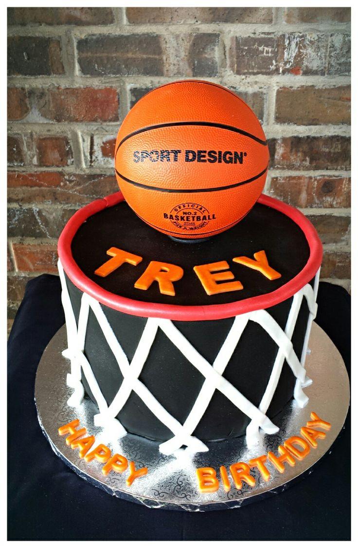 17 Best Ideas About Basketball Birthday Cakes On Pinterest