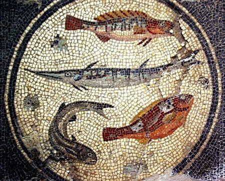 917 best mosaici images on pinterest roman mosaics - Table mosaique rectangulaire ...