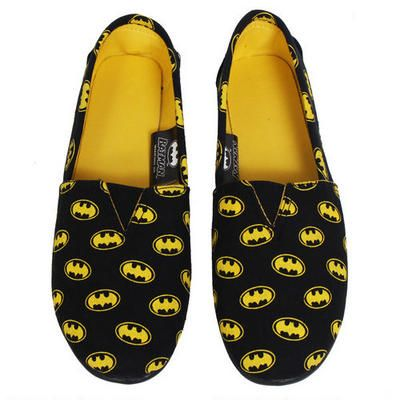 Batman Logo Slip On Shoes |