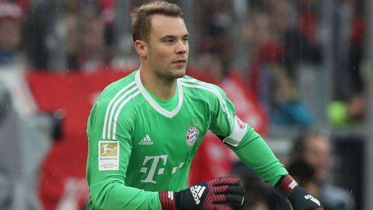 FC Bayern München: Manuel Neuer verletzt sich erneut am Fuß - Bundesliga Saison 2016/17 - Bild.de