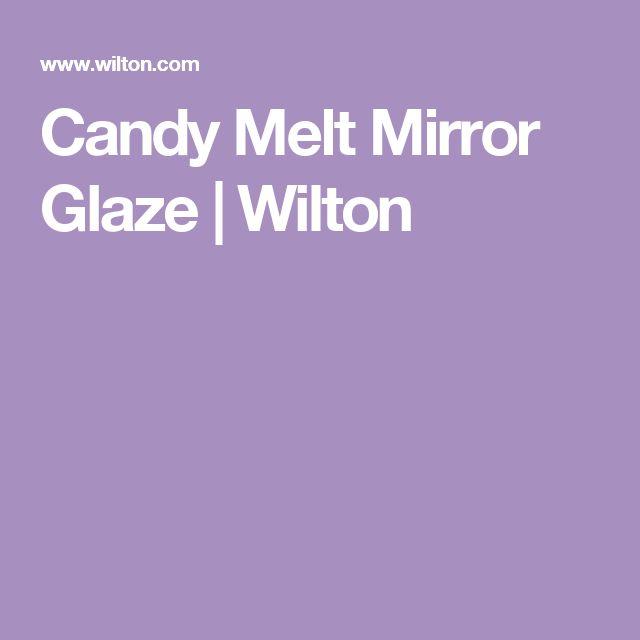 Candy Melt Mirror Glaze | Wilton