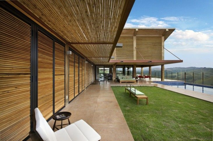 Mountain House Design Terrace Design - pictures, photos, images
