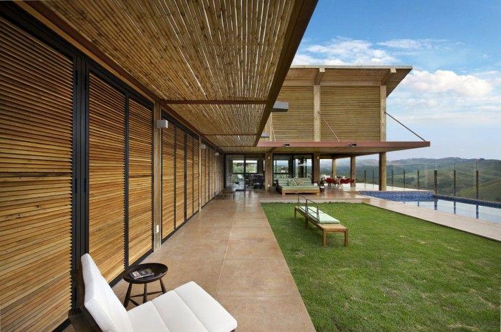 Mountain House Design Terrace Design - pictures, photos, images