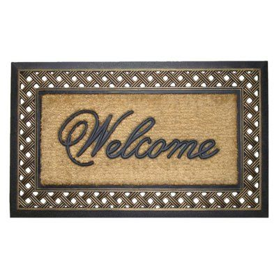 First Impression Large Outdoor Brush Doormat - A1HOME200028, Durable