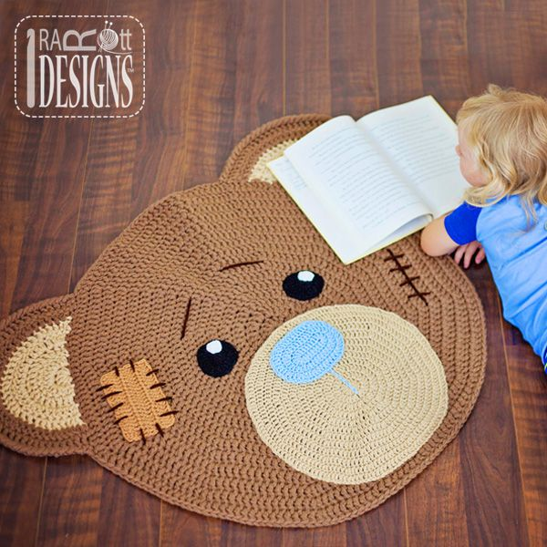 1000+ Ideas About Knit Rug On Pinterest
