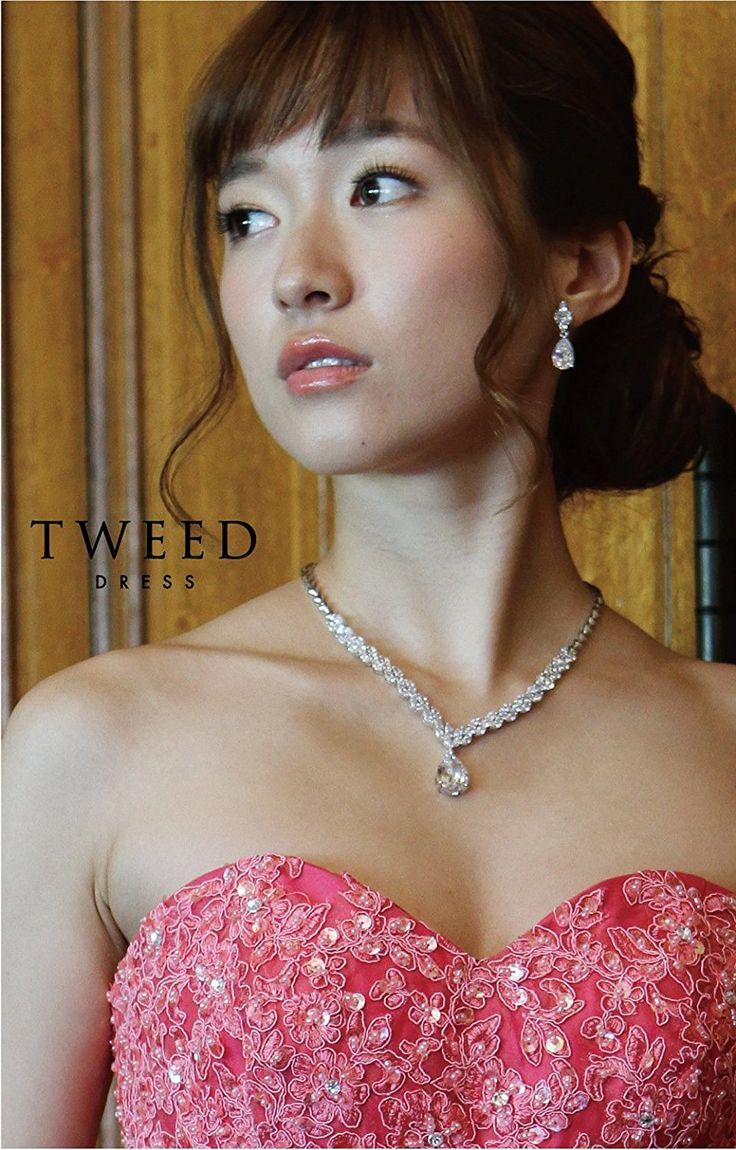 Amazon | ロングドレスにお薦め ネックレス イヤリング セット [KA-19] | ネックレス&ペンダント 通販