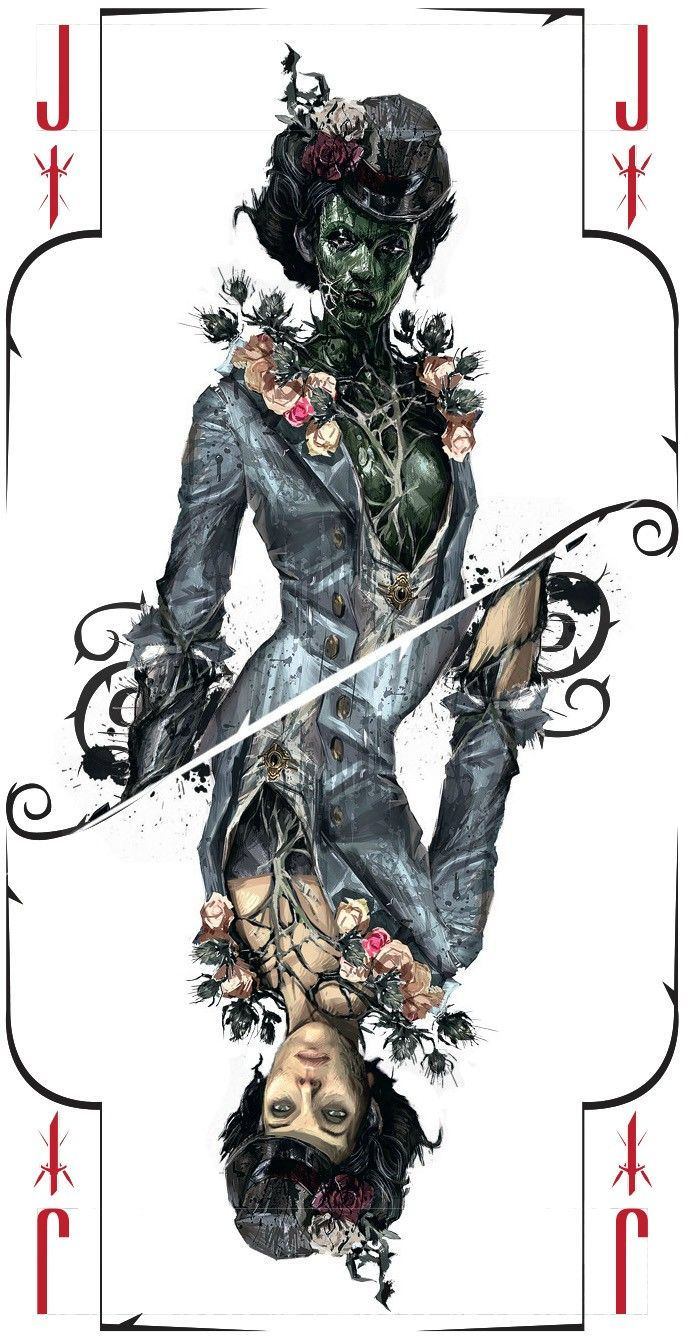 Dishonored Tarot Deck for GameStop Brigmore Witches