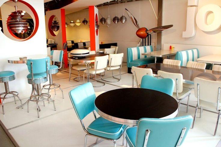 Diner Möbel große Auswahl - Hellwig 50's Retrolook