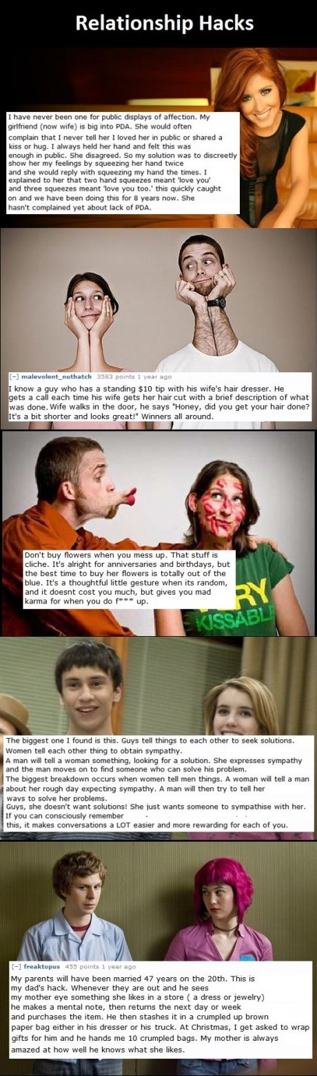 This is so cool! Relationship Hacks