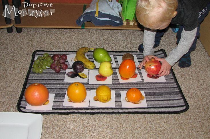 Dopasowywanie owoców dokart
