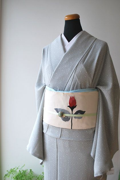 Edo Komon and a magnificent belt