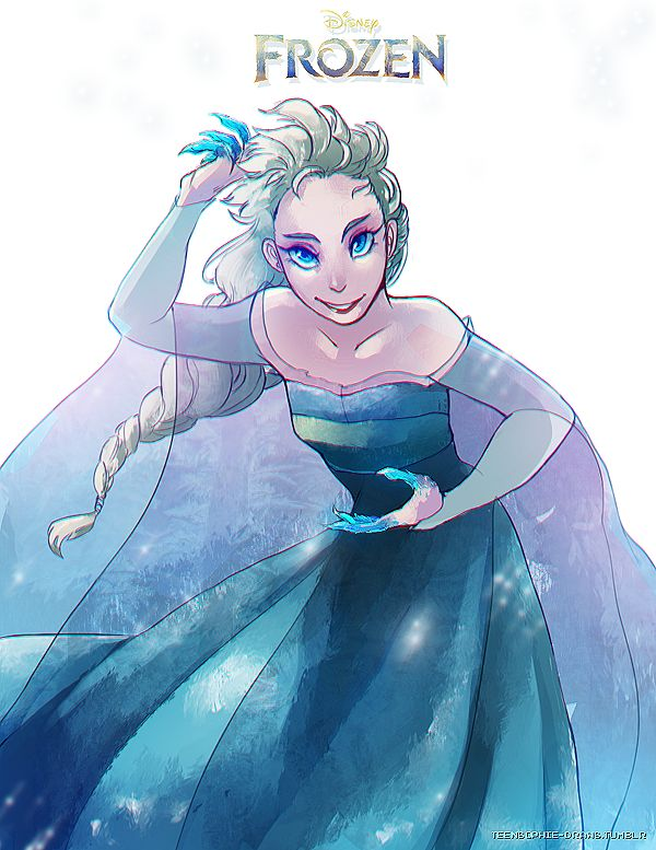 FROZEN - Queen Elsa by ~Arcana-break on deviantART