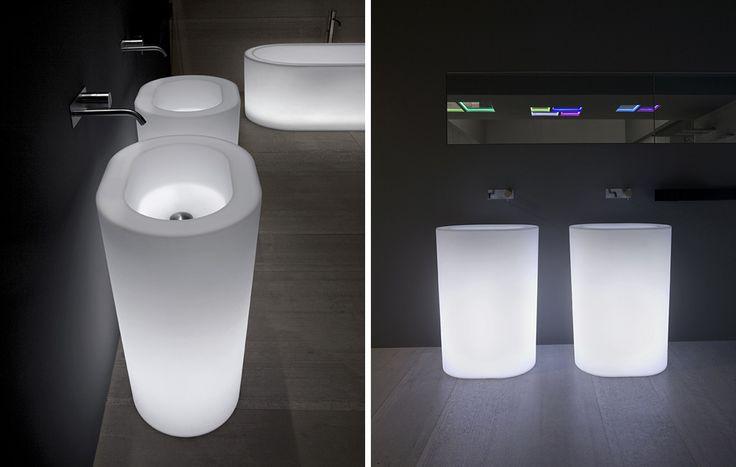 sinks: OIO ANTONIO LUPI - arredamento e accessori da bagno - wc, arredamento, corian, ceramica, mosaico, mobili, bagno, camini, cromoterapia...