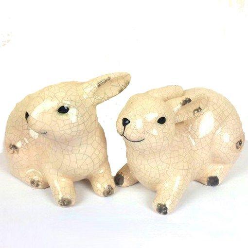 Ceramic Rabbit Set