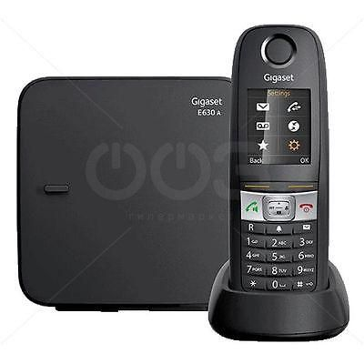 Siemens Телефон беспроводной DECT Siemens Gigaset E630A Black  — 371228.38 руб. —  Телефон беспроводной DECT Siemens Gigaset E630A Black