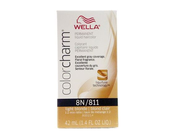 Wella Color Charm 8N/811 Light Blonde Permanent Liquid Hair Color Value Packs (2 pcs) >>> Want to know more, click on the image.