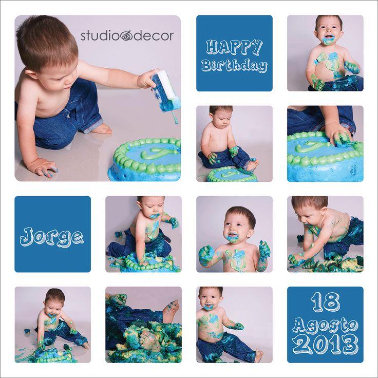 Studio & Decor Un recuerdo inolvidable para su primer cumpleaños!