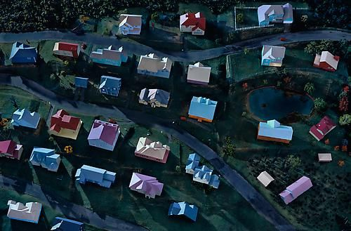 Landscape with Houses (Dutchess County, NY) #2, 2009 / James Casebere