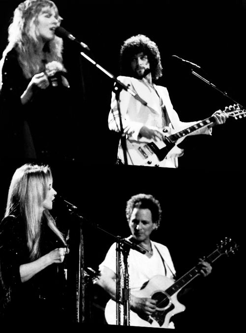 Stevie and Lindsey then and now.....Frozen Love, Frozen Beauty !!!!!!