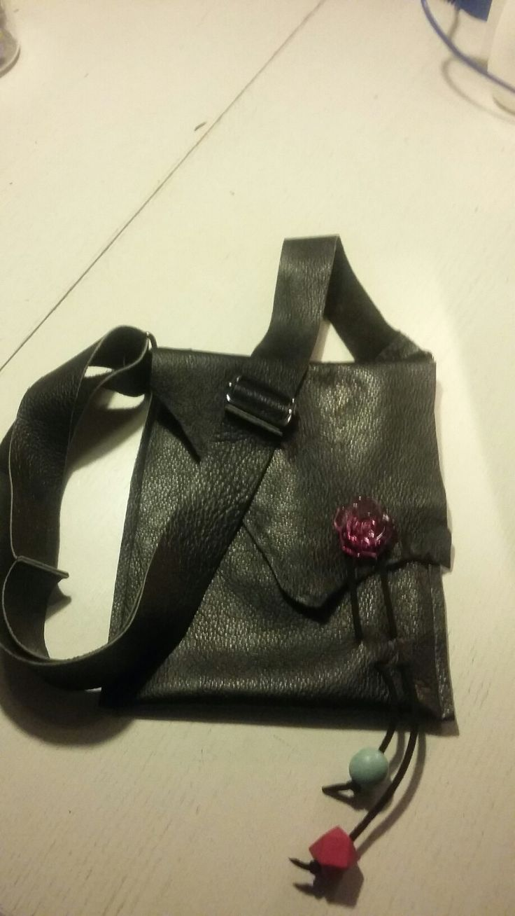 Læder taske diy