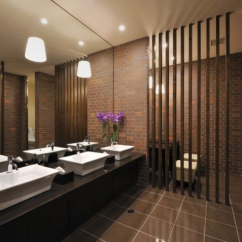wall divider design ideas pictures remodel and decor page 2 restaurant bathroomrestroom. beautiful ideas. Home Design Ideas