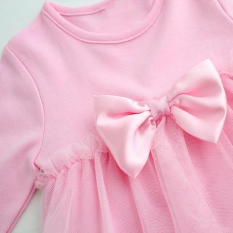 Для Новорожденной Принцессы Платье-Боди Хлопок