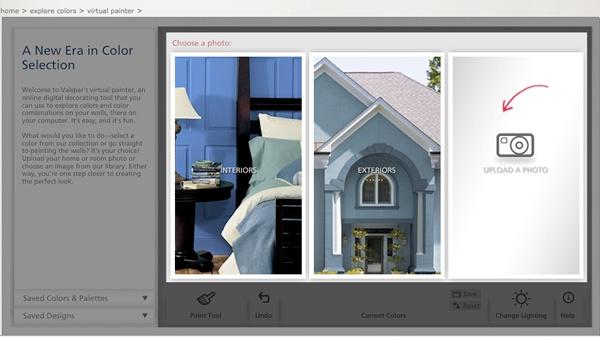 valspar s online color visualizer my dream home online on valspar paint visualizer interior id=68604