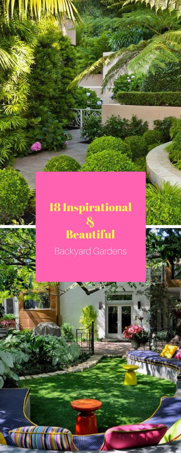 18 beautiful backyard garden ideas 41 best