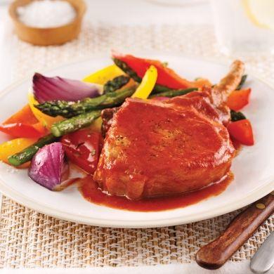 Côtelettes de porc barbecue et érable - Recettes - Cuisine et nutrition - Pratico Pratique