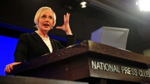 Cate McGregor said Tony Abbott had unhesitatingly supported her.