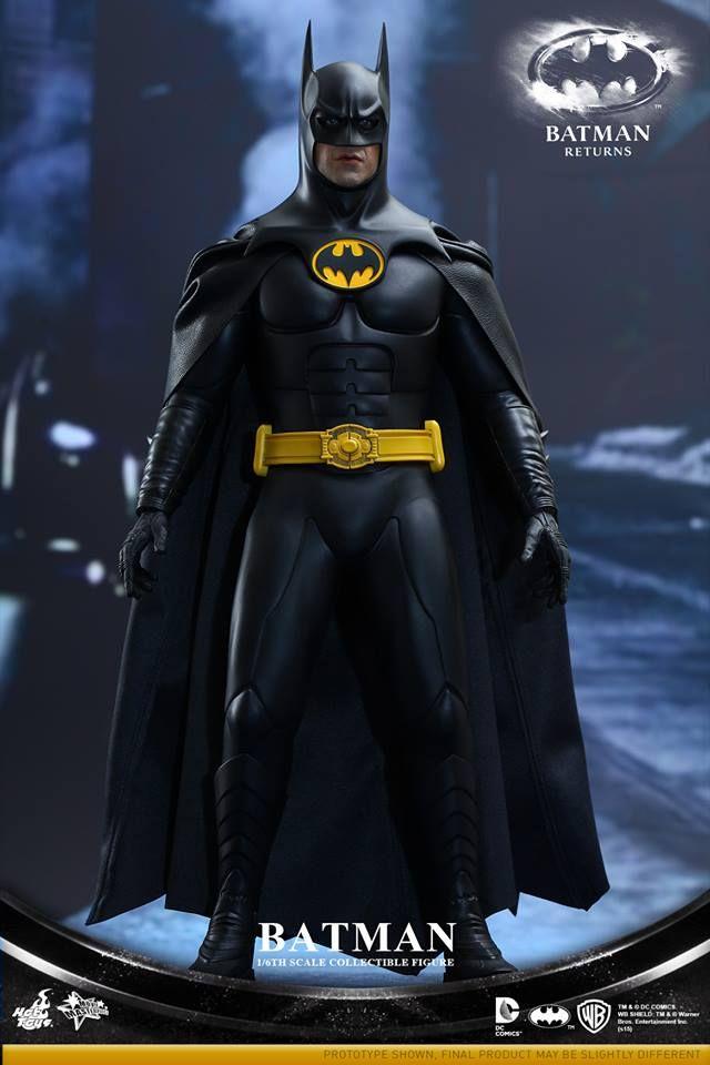 Hot Toys Reveals BATMAN RETURNS Batman and Bruce Wayne Action Figures