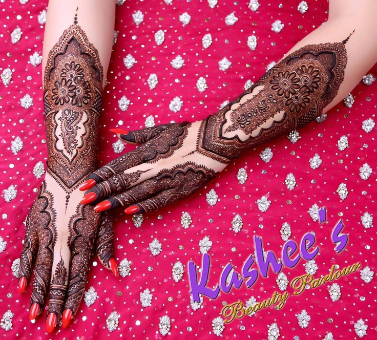 Mehndi design by kashee 's beauty parlour