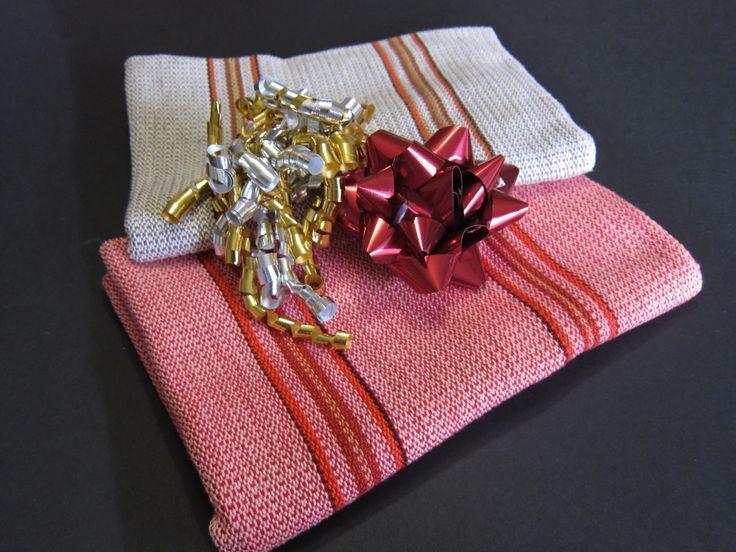 Handwoven weave serviettes by LesFousDart.
