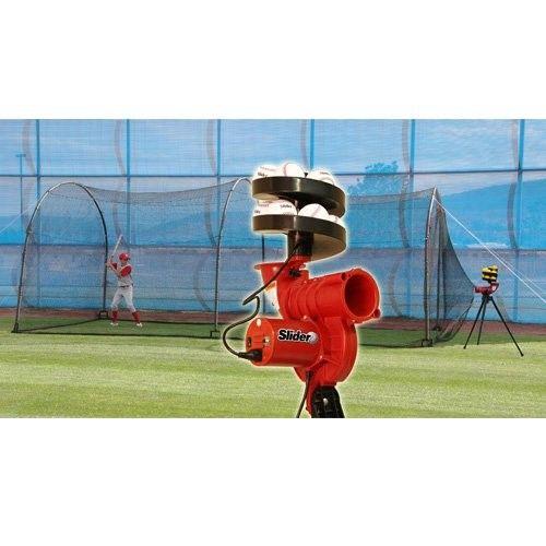 Heater Sports Slider Lite Ball Pitching Machine Amp Xtender