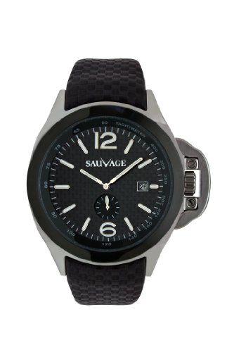 Sauvage Silver/Black mens watch Etalon SV 001832 S Sauvage http://www.amazon.co.uk/dp/B009LEPQ2I/ref=cm_sw_r_pi_dp_VAzavb02B3GAD