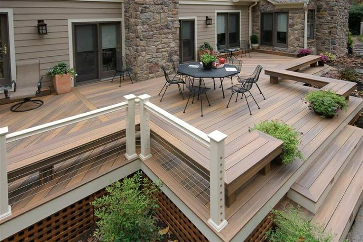 10 best Ground level deck ideas images on Pinterest ... on Ground Level Patio Ideas id=32082