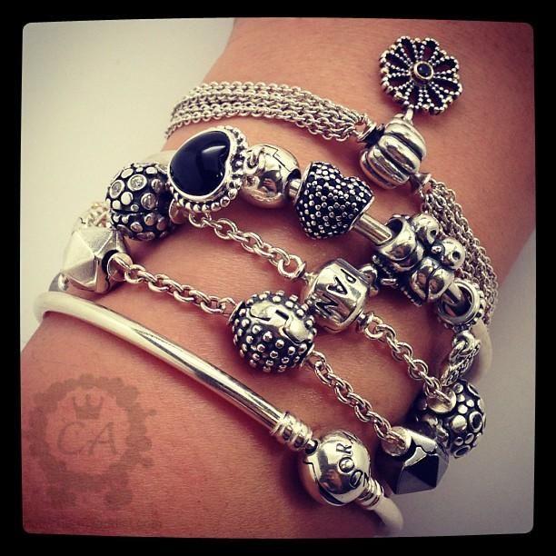 pandora 5 station clip bracelet